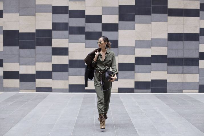 How to Style a Military Jumpsuit