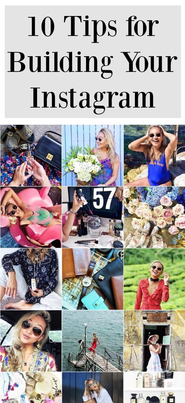 10 Tips for Building Your Instagram @helenchikx