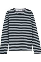 Comme Des Garcons – Striped Cotton-Blend Sweater
