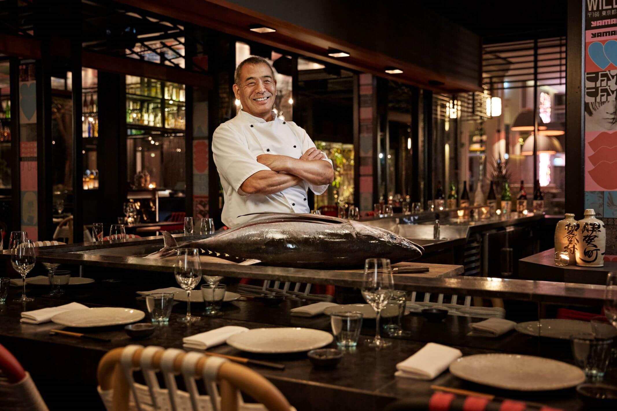 Mitsuo Yoshino - Sushi Master Yamagen