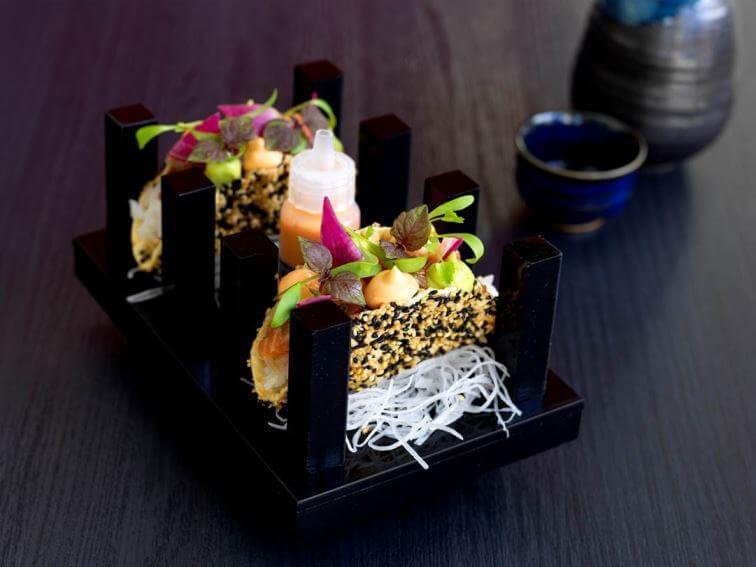 Yamagen Gold Coast Sashimi Tacos