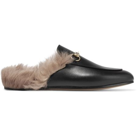 Gucci Fur Slippers