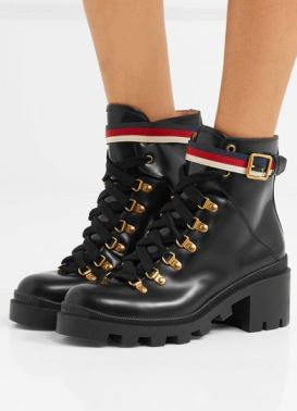Gucci Army Combat Boots