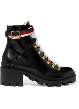 Gucci Army Boots