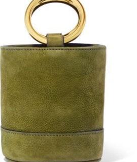 Olive Bucket Bag