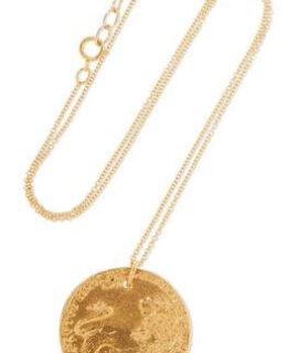 Gold Medallion Necklace