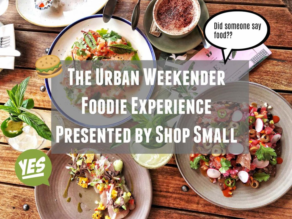 The Urban Weekender Presented by Shop Small