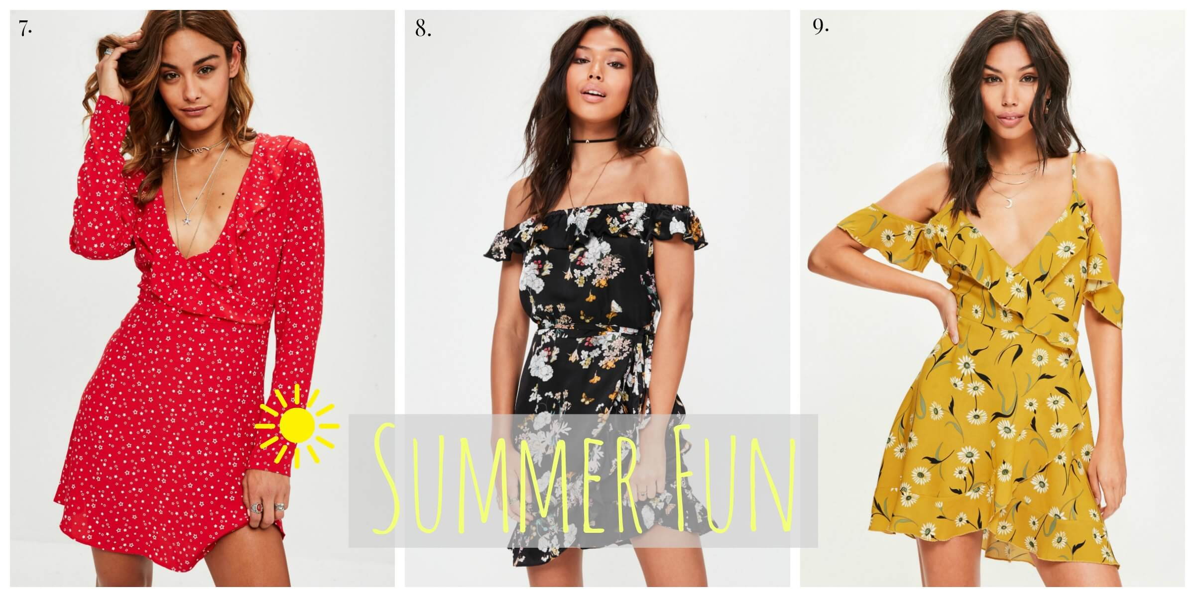 Miss Guided Summer Dresses