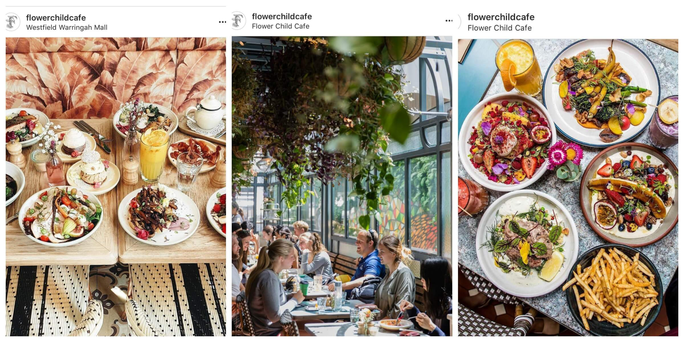Most Instagrammable Cafes in Sydney, FlowerChild Cafe
