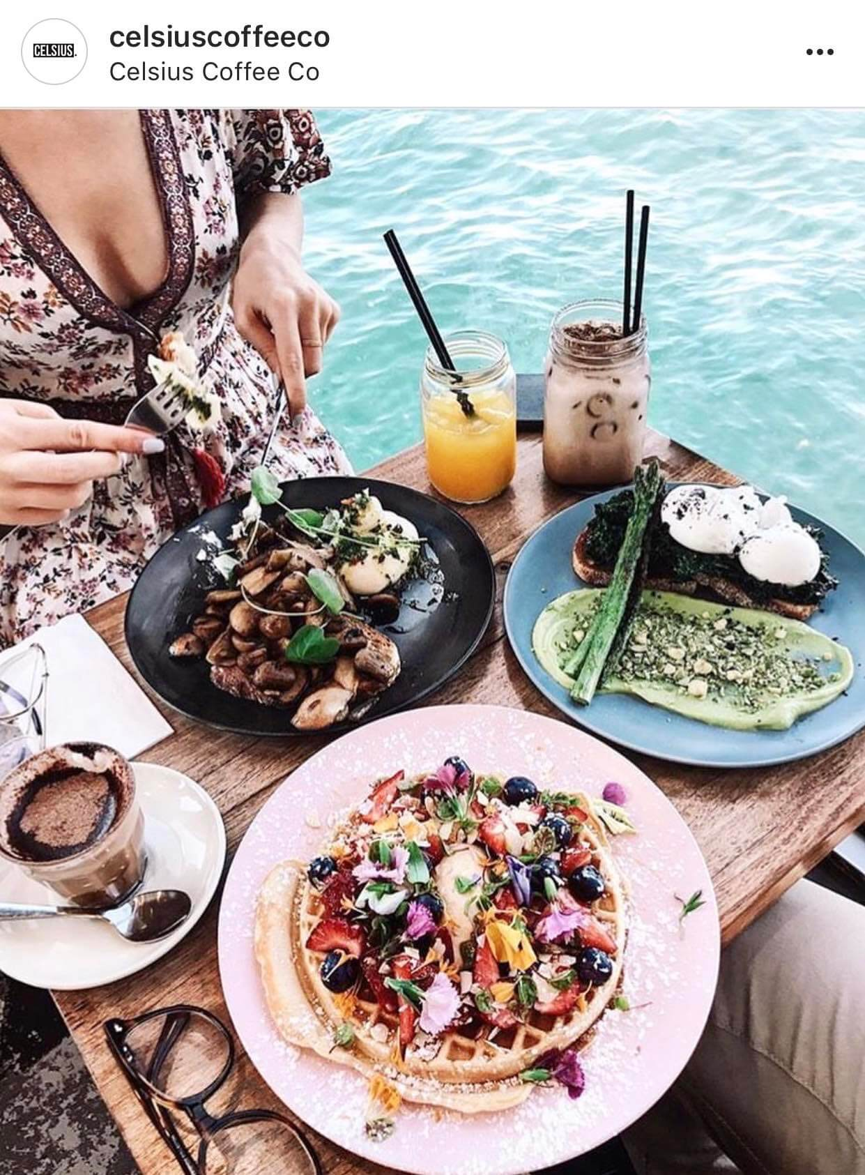 Most Instagrammable Cafes in Sydney, Celsius Coffee Co