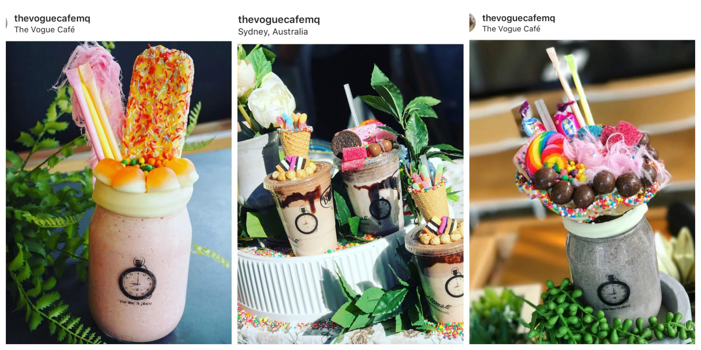 Most Instagrammable Cafes in Sydney, Vogue Cafe