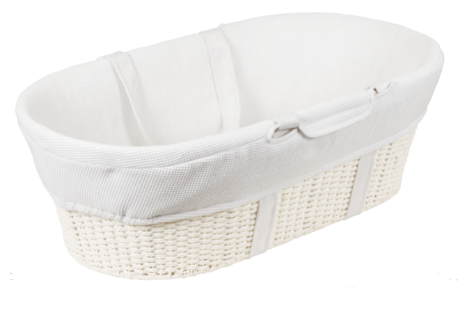 Moses basket - newborn essentials every new mom needs