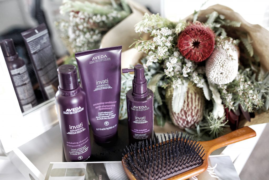How to: Use Aveda Invati Advanced Post Pregnancy