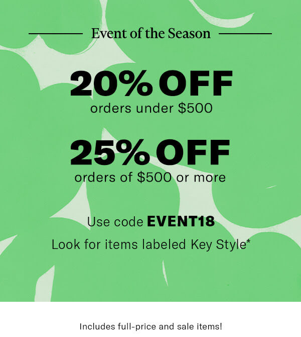 Shopbop April 2018 Sale