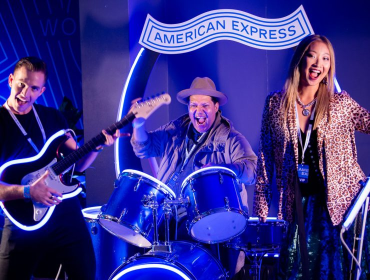 The Killers American Express Music Backers Program