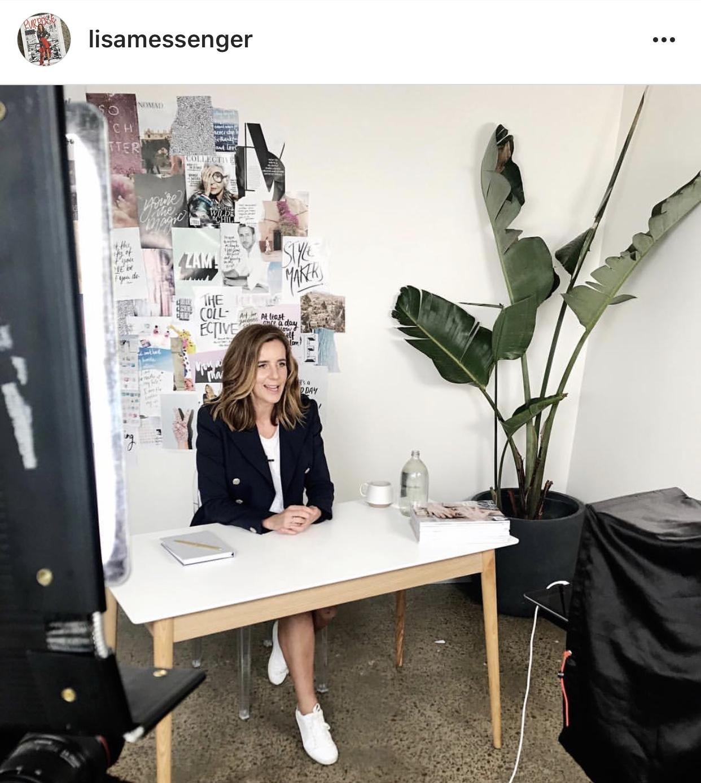 Lisa Messenger Instagram