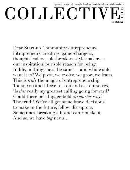 Collective Hub Last Issue - Lisa Messenger