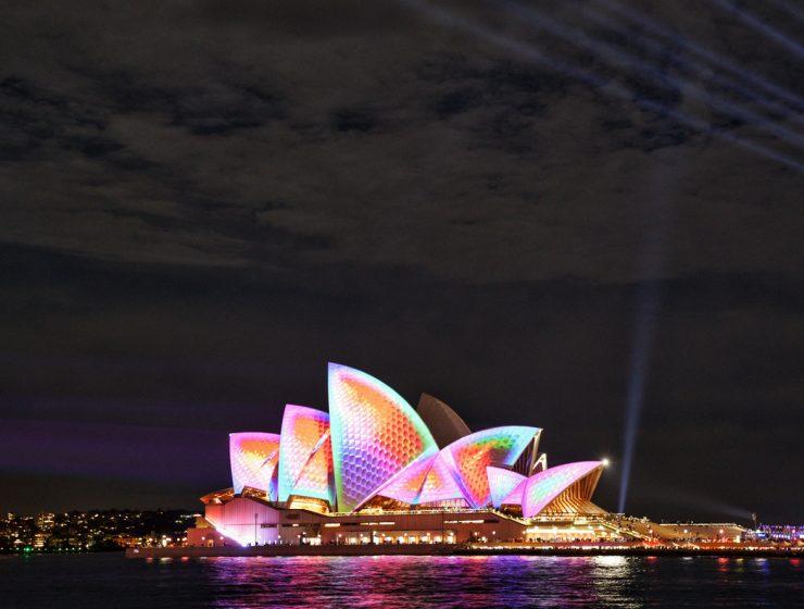 Vivid Sydney 2018 Opera House