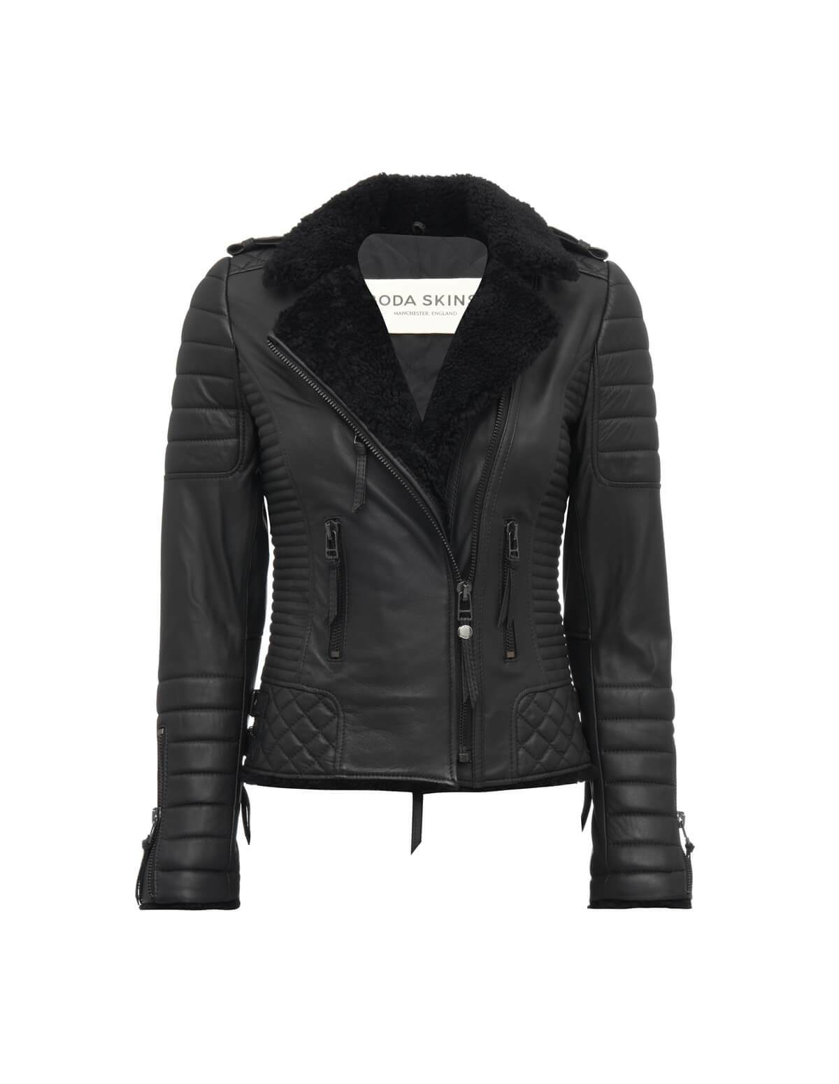 Kay Michaels Shearling Jacket