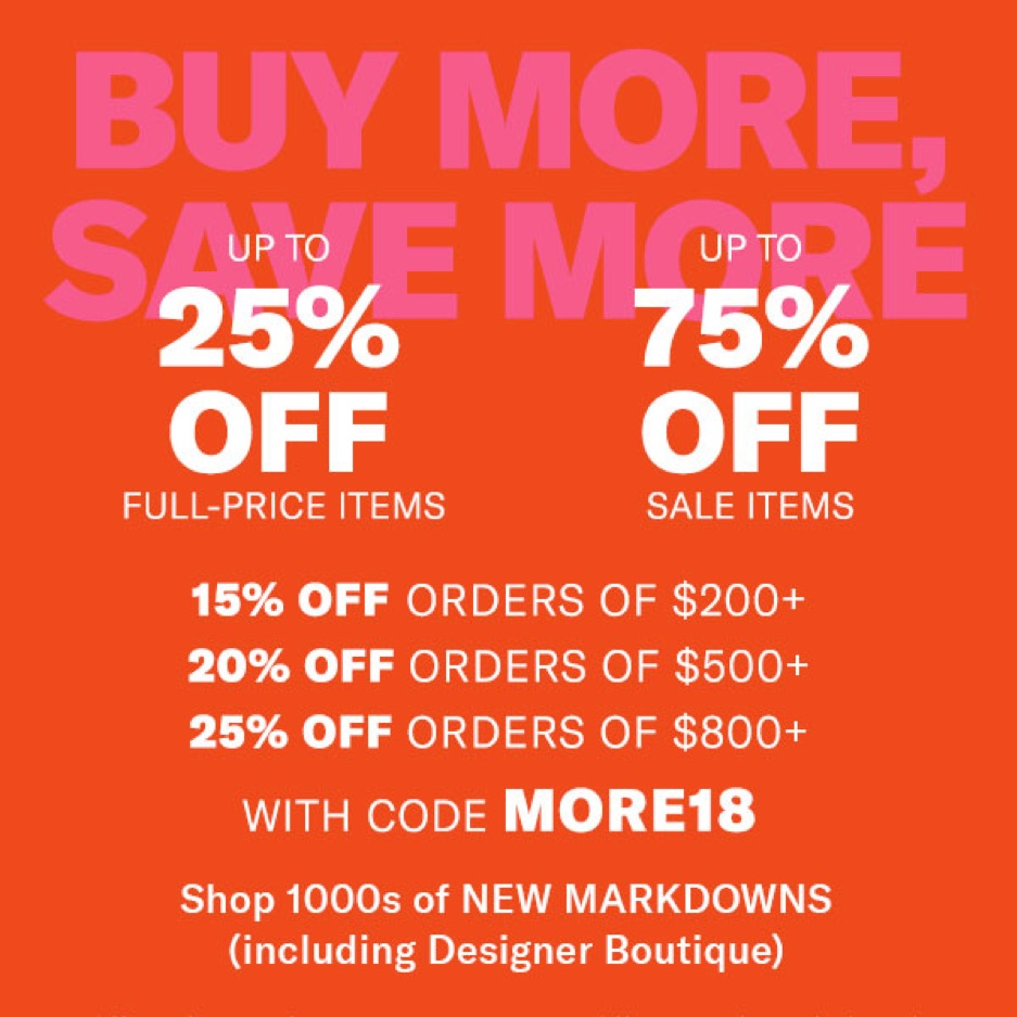 Shopbop Black Friday Sale
